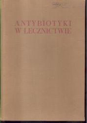Antybiotyki w lecznictwie