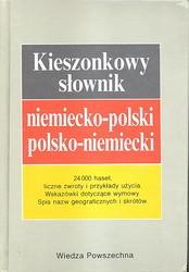 Kieszonkowy słownik niemiecko-polski polsko-niemiecki