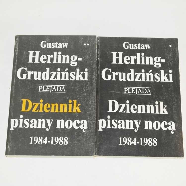 Dziennik pisany nocą 1984-1988 / Herling-Grudziński