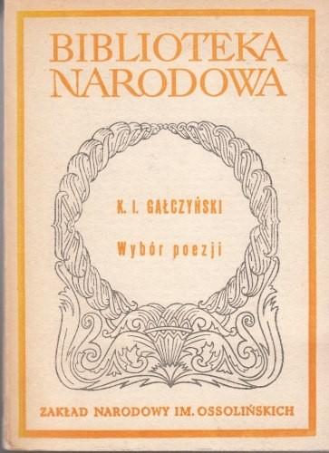 Wybór poezji /  Gałczyński