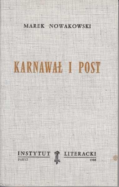 Karnawał i post /  Nowakowski