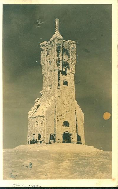 Adolf Hitler - Turm auf dem Altvater