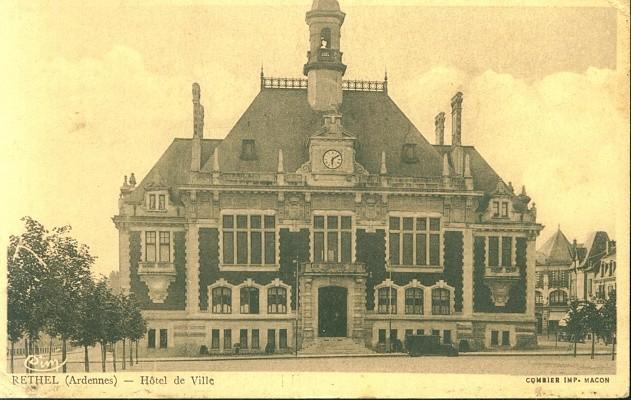 Rethel (Ardennes) - Hôtel de Ville