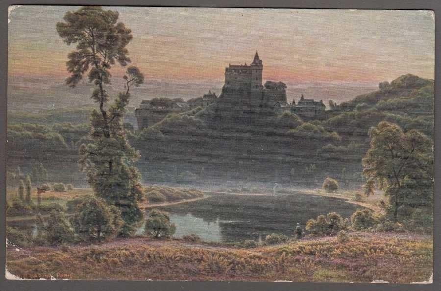 Didier-Pouget  Ajoncs de Bruyères Salon de Paris 1103 Art Postcard