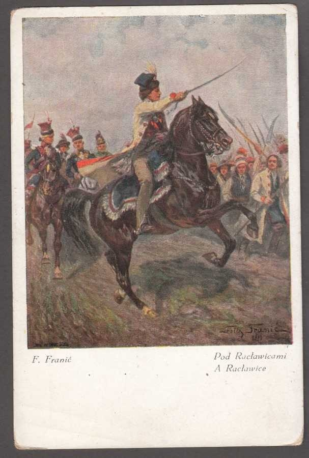 Feliks Franić Pod Racławicami POLONIA 564 Art Postcard