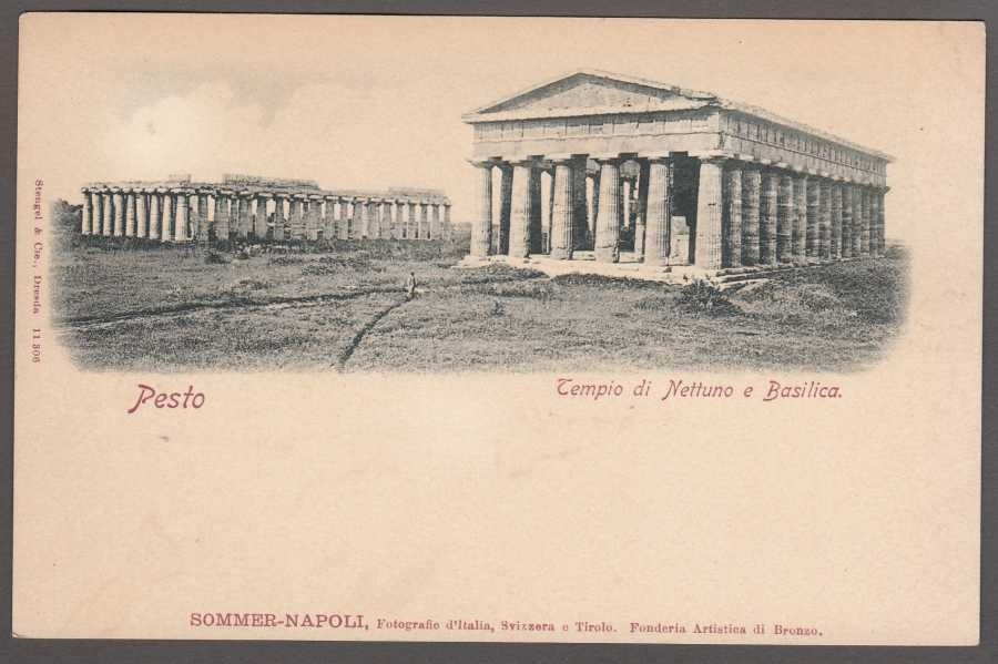 Pesto Tempio di Nettuno e Basilica