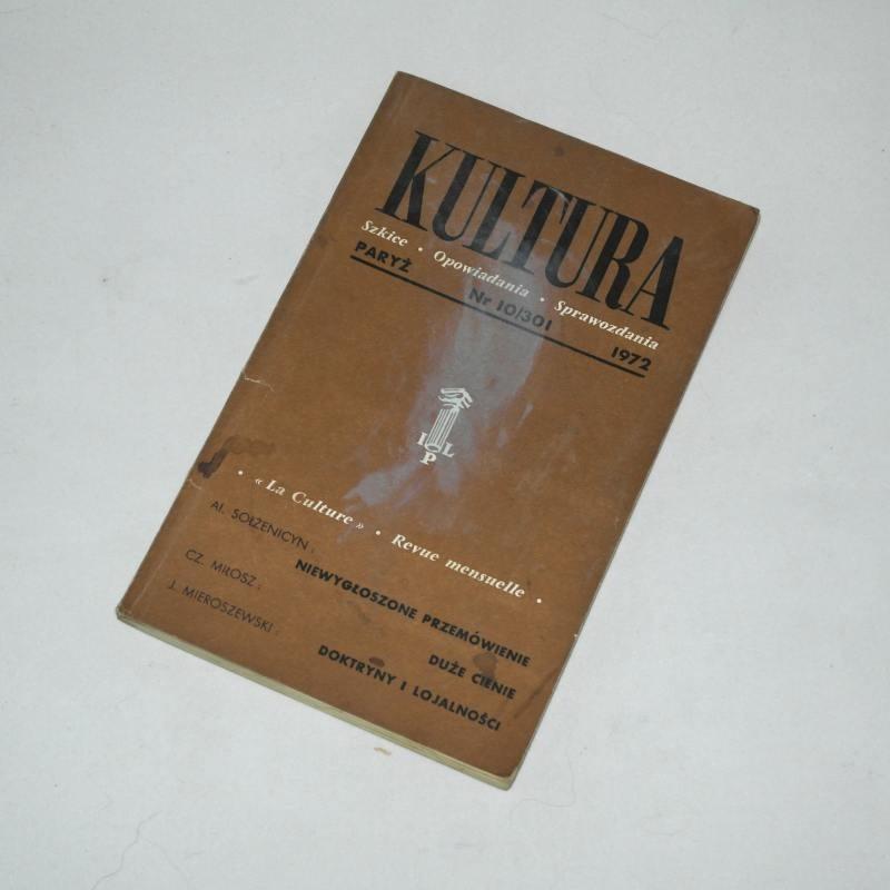 KULTURA  10/301  1972
