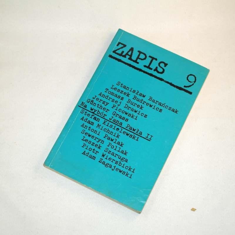 ZAPIS nr 9