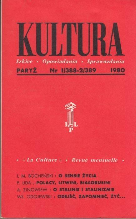KULTURA  1/388 - 2/389 1980