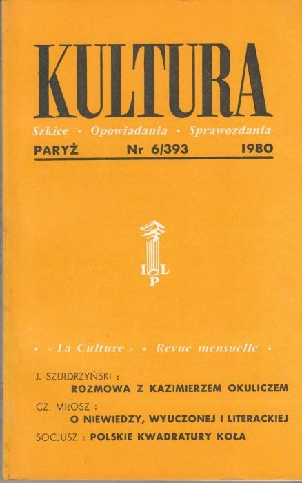 KULTURA  6/393  1980