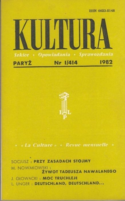 KULTURA  3/414  1982