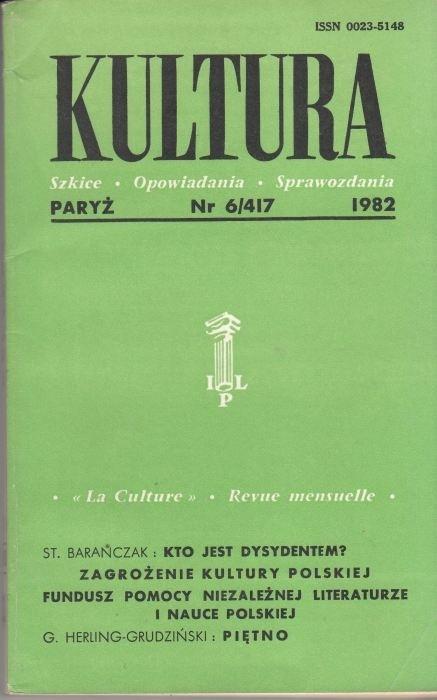 KULTURA  6/417  1982