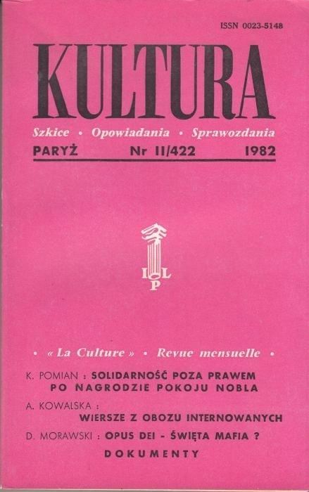 KULTURA  11/422  1982