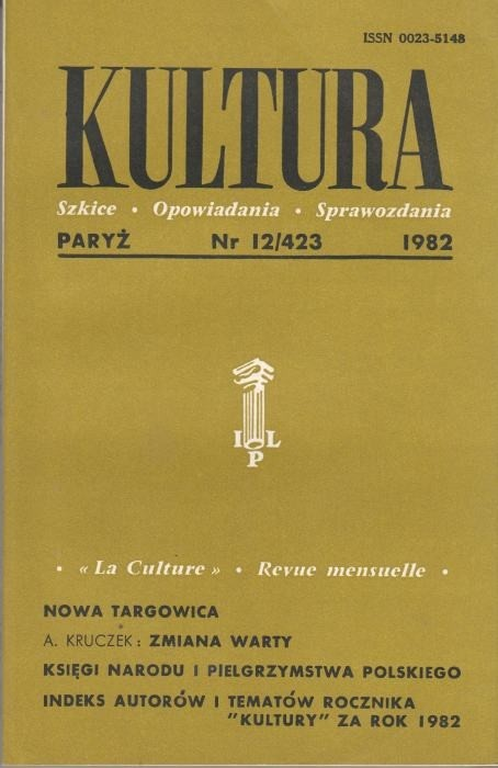 KULTURA  12/423  1982