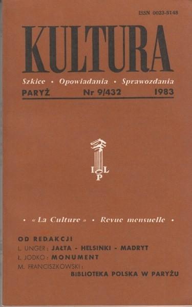 KULTURA  9/432  1983