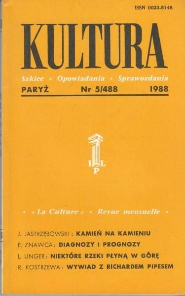 KULTURA  5/488  1988