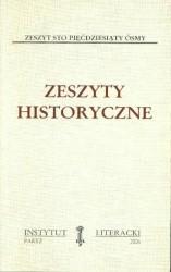 Zeszyty Historyczne zeszyt 158
