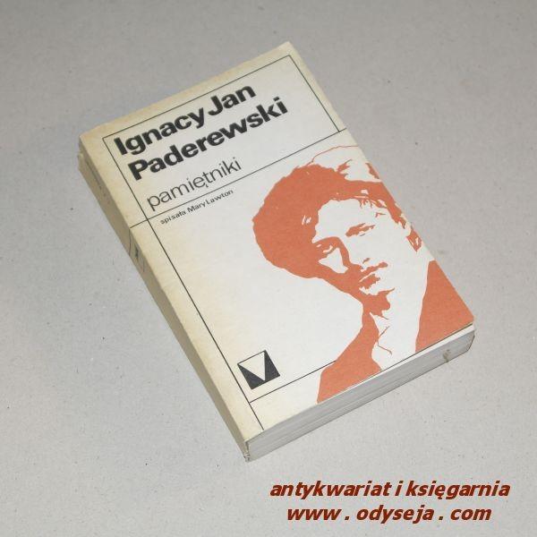 Pamiętniki  /  Paderewski