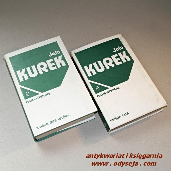 Księga Tatr  Księga Tatr wtóra / Jalu Kurek