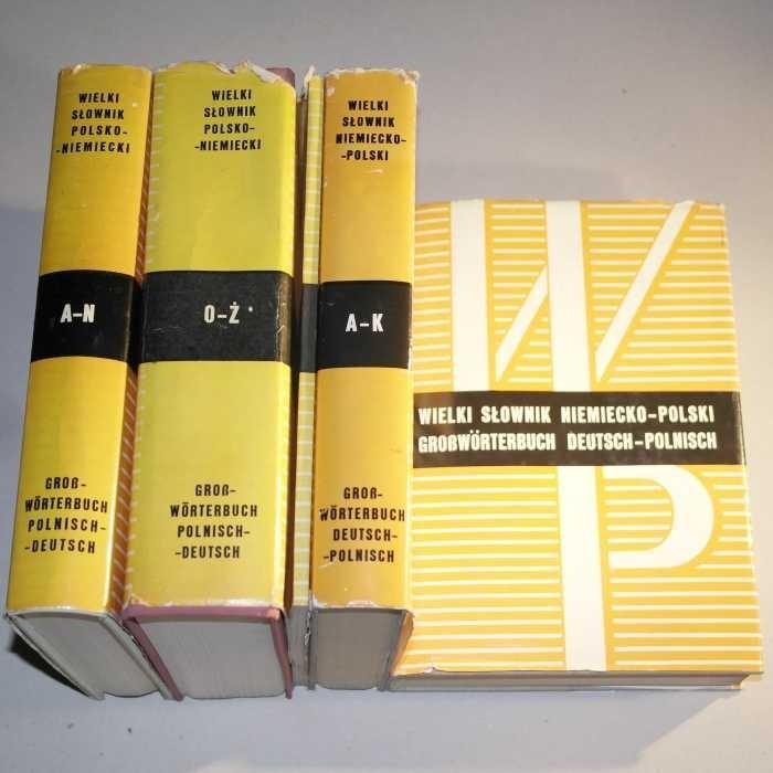 Wielki słownik polsko-niemiecki niemiecko-polski suplement