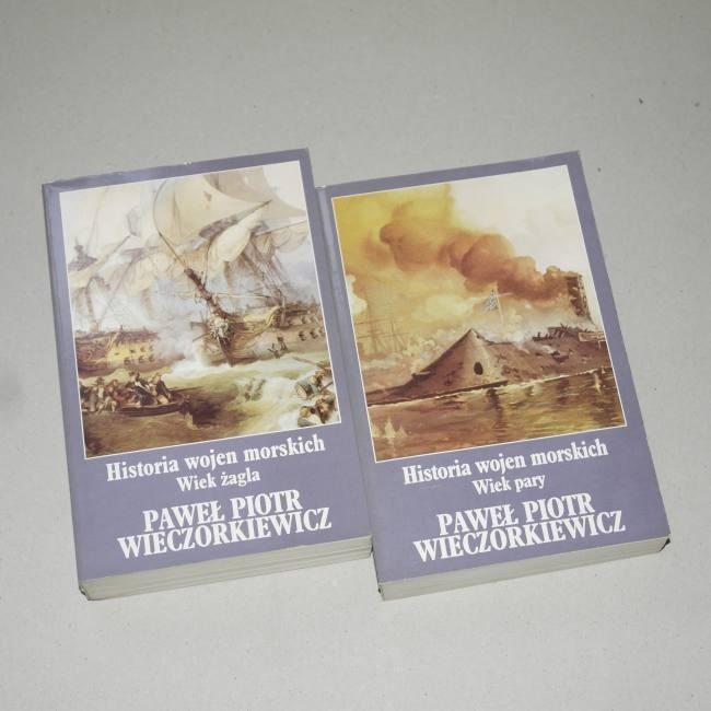 Historia wojen morskich t. 1 i 2  /  Wieczorkiewicz