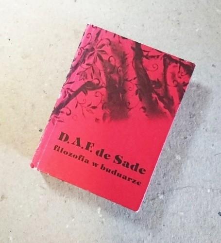 Filozofia w buduarze vol. 1 i 2  / de Sade miniatura
