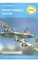 TBiU 104 Samolot bombowy Halifax