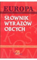 Słownik wyrazów obcych / Jarosz