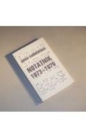 Notatnik 1973-1979 /  Kamieńska