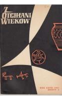 Z OTCHŁANI WIEKÓW  rok XXVII 1961 z. 3