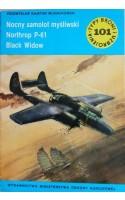 TBiU 101 Nocny samolot myśliwski Northrop P-61 Black Widow