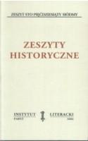 Zeszyty Historyczne zeszyt 157