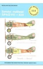 TBiU 114 Samolot myśliwski SPAD VII-XIII