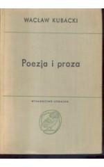 Poezja i proza. Studia historycznoliterackie 1934-1964