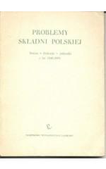 Problemy składni polskiej