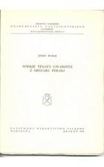 Funkcje syntaktyczne bezokolicznika w gwarach zachodniocieszyńskich