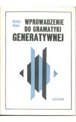 Wprowadzenie do gramatyki generatywnej
