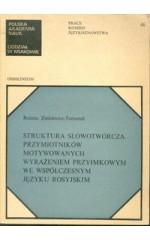 Struktura słowotwórcza przymiotników motywowanych wyrażeniem przyimkowym we współczesnym języku rosyjskim