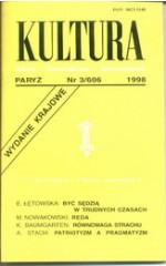 KULTURA nr 3/606  1998