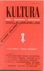 KULTURA nr 1/628-2/629 2000