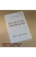 Prywatne obowiązki  /  Miłosz