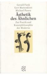 Ästhetik des Ähnlichen : Zur Poetik und Kunstphilosophie der Moderne