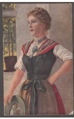 Eichstaedt  Lieserl  Gustav Liersch & Co Deutsche Kunst  618 Art Postcard