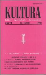 KULTURA  11/410  1981