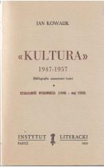 KULTURA 1947-1957  / Kowalik