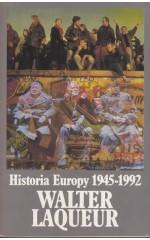 Historia Europy 1945-1992 /  Laqueur