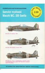 TBiU 126 Samolot myśliwski Macchi MC. 200 Saetta