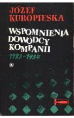 Wspomninia dowódcy kompanii 1923-1934