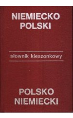 Słownik kieszonkowy niemiecko-polski, polsko-niemiecki