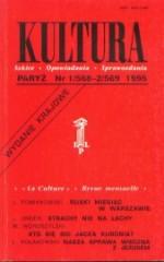 Kultura nr 1/568 - 2/569  (wydanie krajowe) 1995